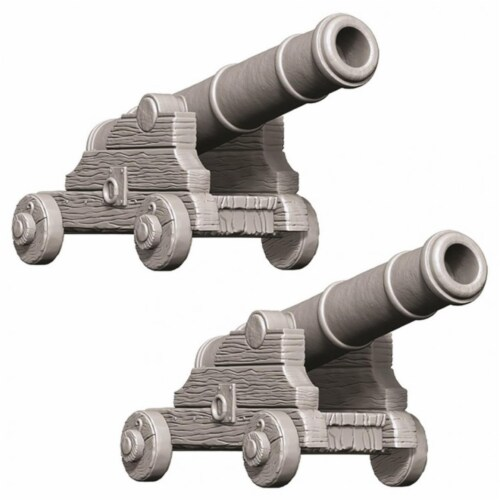 WizKids WZK73730 Deep Cuts Small Cannons W9 Miniature Perspective: front