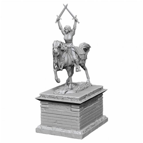 WizKids WZK73864 Deep Cuts-Heroic Statue W10 Miniature Perspective: front
