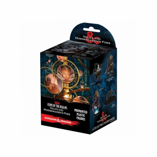 WizKids WZK73942 Dungeons & Dragons Icons of the Realms-Volo-Morden Foes BB Miniature - 8 Pie Perspective: front