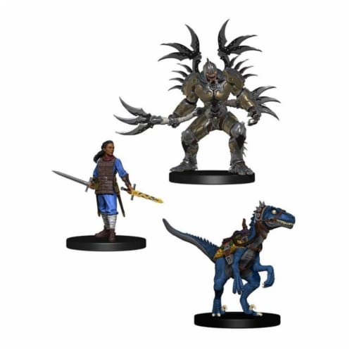 WizKids Dungeons & Dragons Icons of the Realms Eberron Rising Booster Box Miniatures Perspective: front