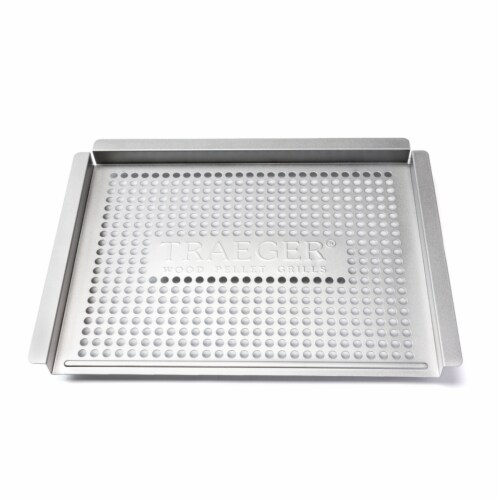Traeger Grill Basket 15.75 in. L x 11.5 in. W - Case Of: 1; Perspective: front