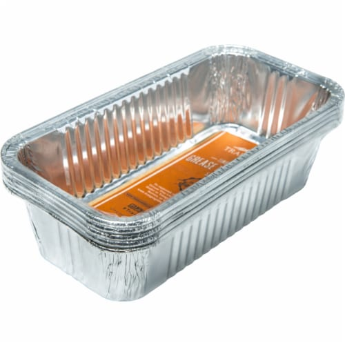 Traeger Aluminum Grease Pan Liner For Timberline 850 &1300 Models 8.74 in. L x 4.61 in. W - Perspective: front