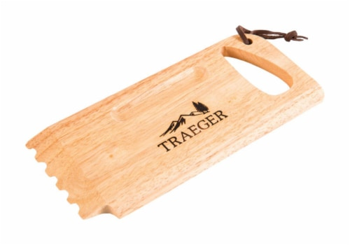 Traeger Wood Brown Grill Scraper 1 pk - Case Of: 1; Perspective: front