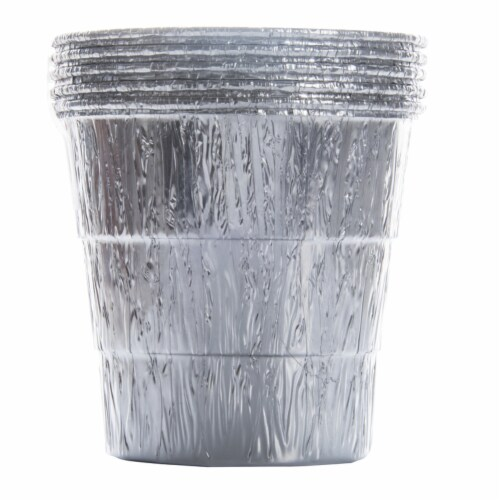 Traeger Aluminum Mini Grease Bucket Liner For Ranger, Scout, PTG - Case Of: 1; Each Pack Qty: Perspective: front