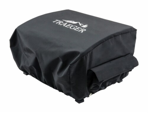 Traeger Black Grill Cover For Ranger or Scout 21 in. W x 13 in. H - Case Of: 1; Perspective: front