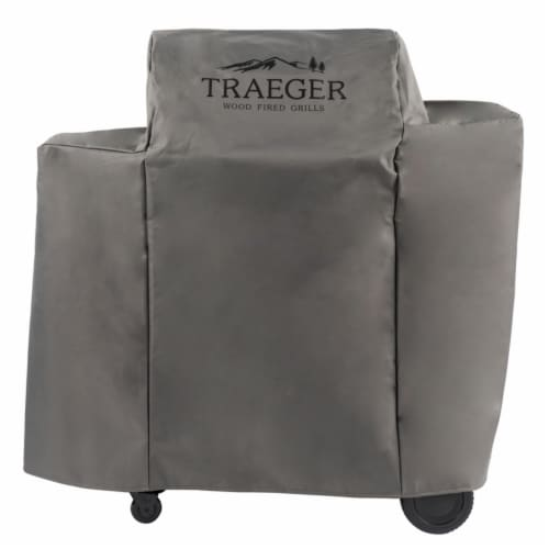 Traeger Gray Grill Cover For Ironwood 650-TFB65BLE 46 in. W x 43.25 in. H - Case Of: 1; Perspective: front
