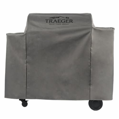 Traeger Gray Grill Cover For Ironwood 885 54 in. W x 43.2 in. H - Case Of: 1; Perspective: front