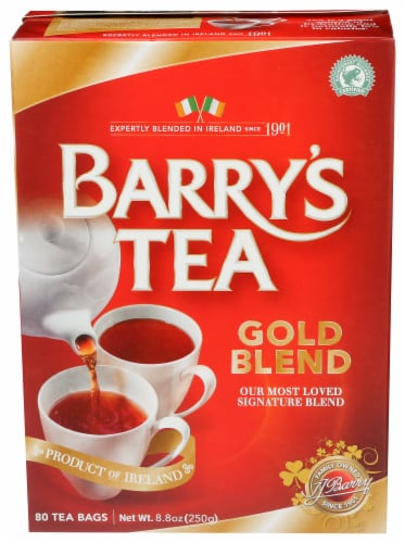Barry's Gold Blend Tea Perspective: front