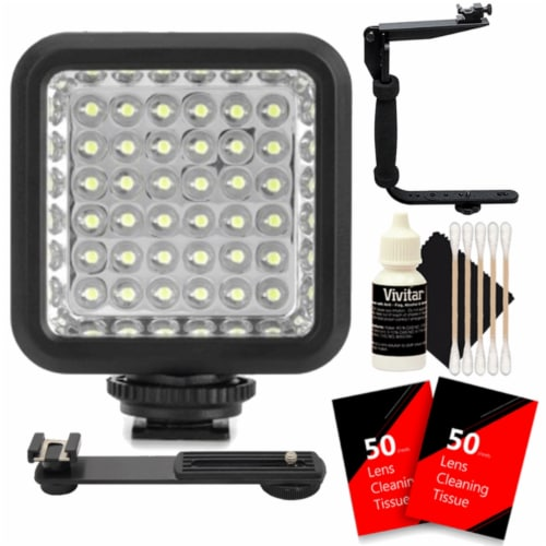 36 Led Photo And Video Light With Accessories Perspective: front