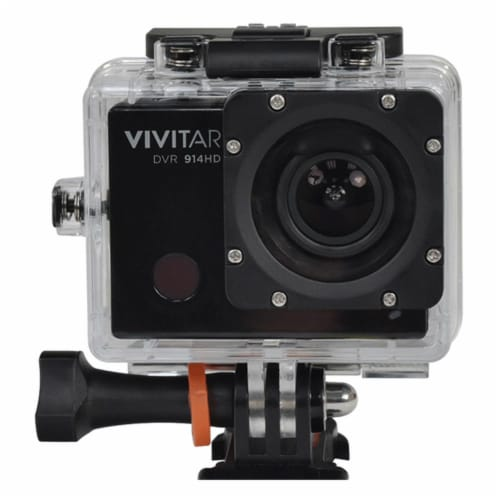 Vivitar Dvr914hd 1440p Hd Wi-fi Waterproof Action Video Camera Camcorder Perspective: front