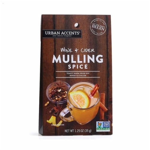 Urban Accents Wine & Cider Mulling Spice Perspective: front