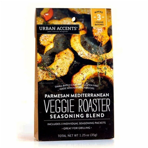 Urban Accents Parmesan Mediterranean Veggie Roaster Seasoning Blend Perspective: front