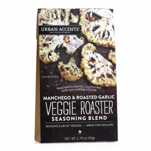 Urban Accents Manchego & Roasted Garlic Veggie Roaster Seasoning Blend Perspective: front