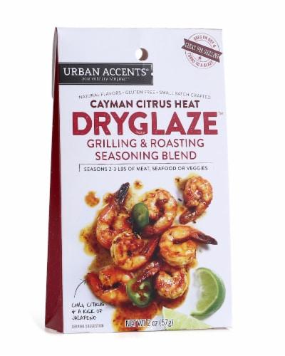Urban Accents Cayman Citrus Heat Dryglaze Grilling & Roasting Seasoning Blend Perspective: front