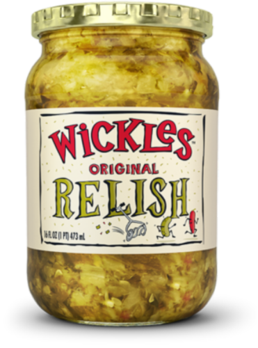 Wickles Original Relish Perspective: front