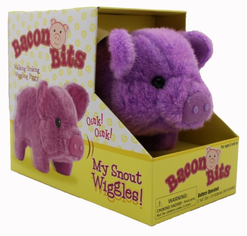 Bacon Bits Mechanical Pig - Purple Perspective: front