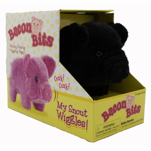 Bacon Bits Mechanical Pig - Black Perspective: front