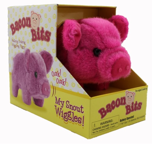 Bacon Bits Mechanical Pig - Pink Perspective: front