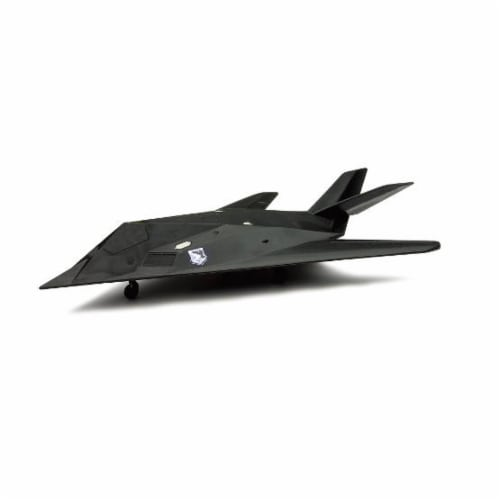 Die-Cast Miniature F-117 Nighthawk Fighter Jet Perspective: front