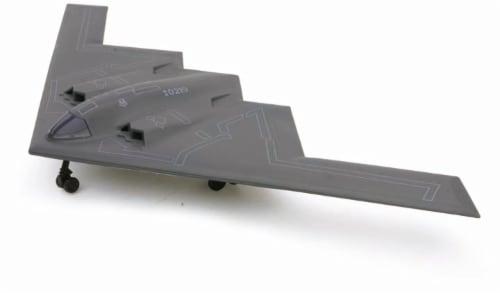 Snap Together Model B-2 Spirit Jet Fighter Perspective: front