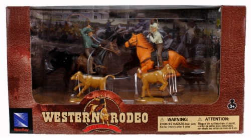 Western Rodeo Playset - Lasso Perspective: front