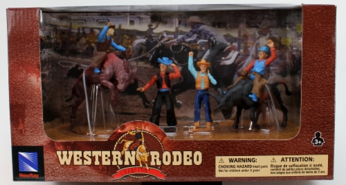 Western Rodeo Playset - Bullriding Perspective: front