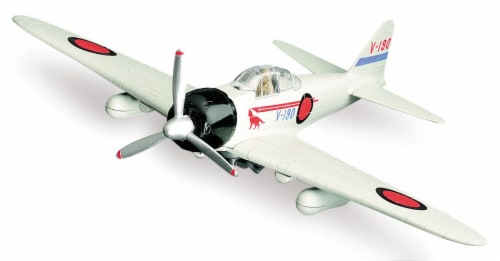 Sky Pilot Classic Plane Model Kit (1:48 Scale), Zero Fighter Perspective: front