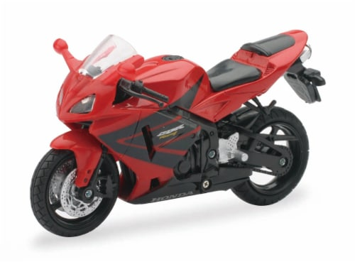 1:18 Scale Die-Cast Motorcycle - Red Honda CBR600RR Perspective: front