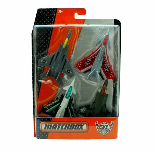 Matchbox Sky Busters Airplane 4-Pack - Dog Fight Pack Perspective: front