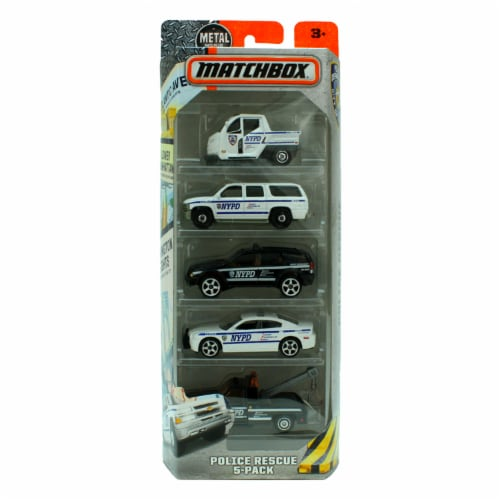 Matchbox - NYPD 5-Pack Perspective: front