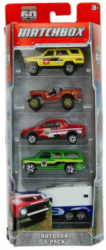Matchbox - Outdoor 5-Pack Perspective: front