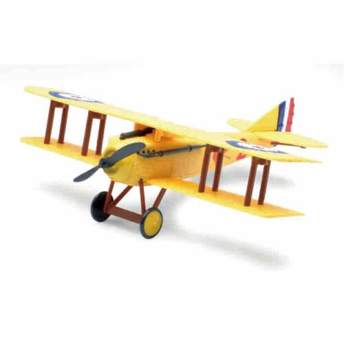 Snap Together Model SPAD S.VII Perspective: front