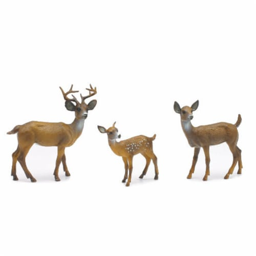 White-tailed Deer Playset Perspective: front