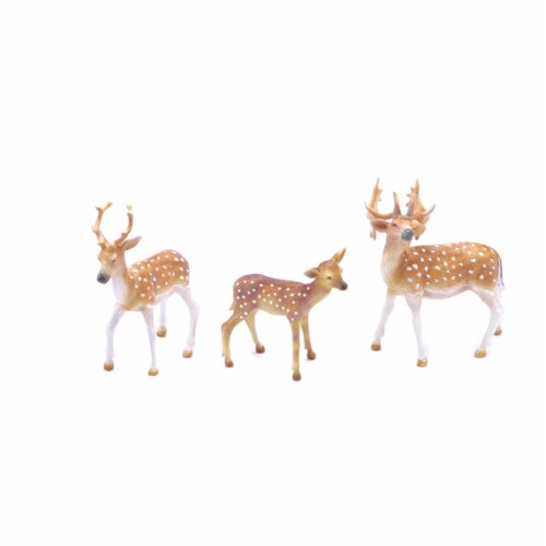 Fallow Deer Playset Perspective: front