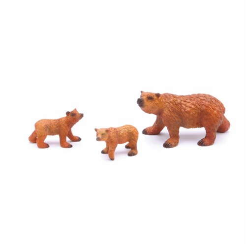 Grizzly Bear Playset Perspective: front