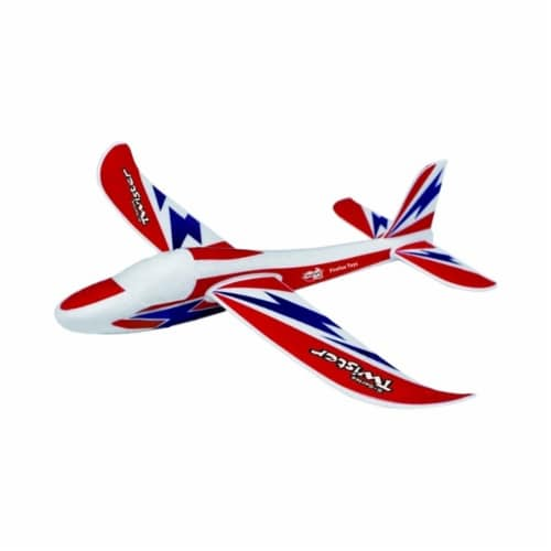 """S-Series Small Twister Glider With 12"""" Wingspan Perspective: front"""