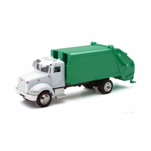 1:43 Scale Die-Cast Utility Truck, Garbage Truck Perspective: front