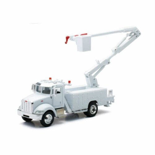 1:43 Scale Die-Cast Utility Truck, Line Maintenance Truck Perspective: front