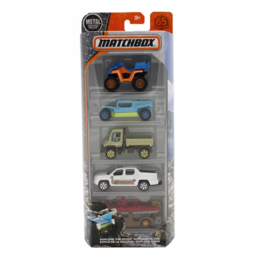 Matchbox - Explore The River 5-Pack Perspective: front