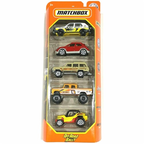 Matchbox - Offroad Rally 5-Pack Perspective: front