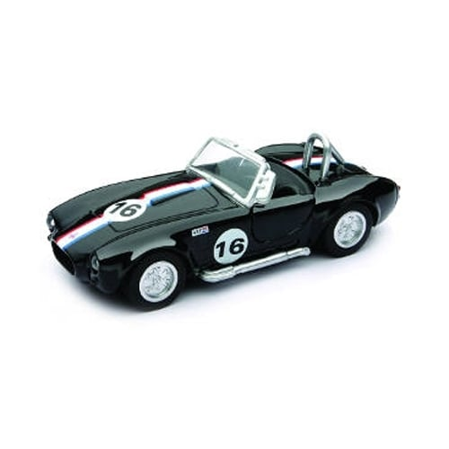 1/32 Die-Cast Car With Pullback Action, Shelby Cobra 427 S/C Perspective: front