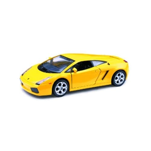 1/32 Die-Cast Car With Pullback Action, Lamborghini Gallardo Perspective: front