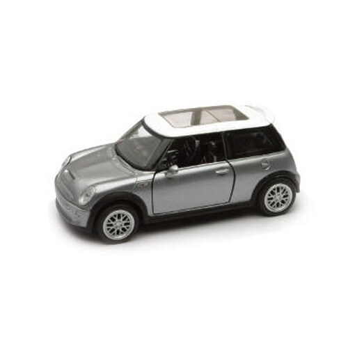 1/32 Die-Cast Car With Pullback Action, Mini Cooper S Perspective: front