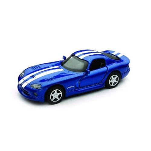 1/32 Die-Cast Car With Pullback Action, Dodge Viper GTS Coupe Perspective: front