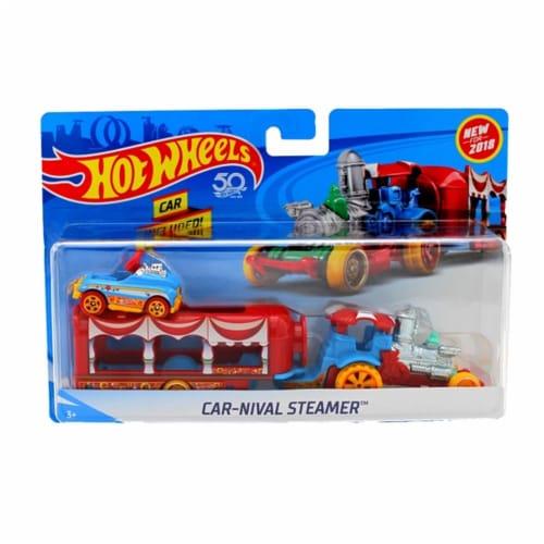 Hot Wheels Super Rig, Car-Nival Steamer Perspective: front