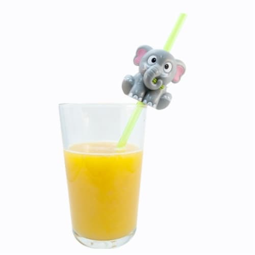 Sip n' Sound Straw, Elephant Perspective: front