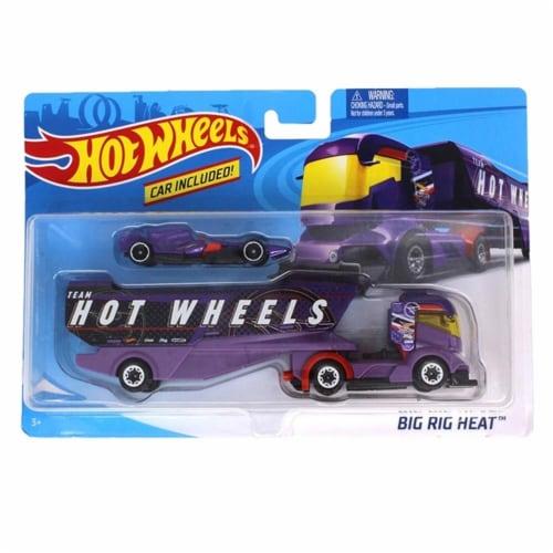 Hot Wheels Super Rig, Big Rig Heat Perspective: front