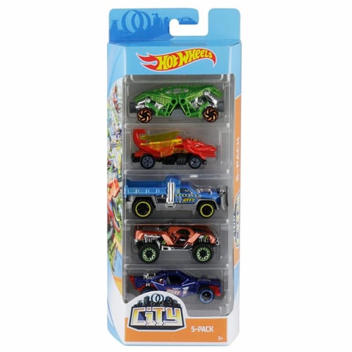 Hot Wheels 5 Pack, City Perspective: front