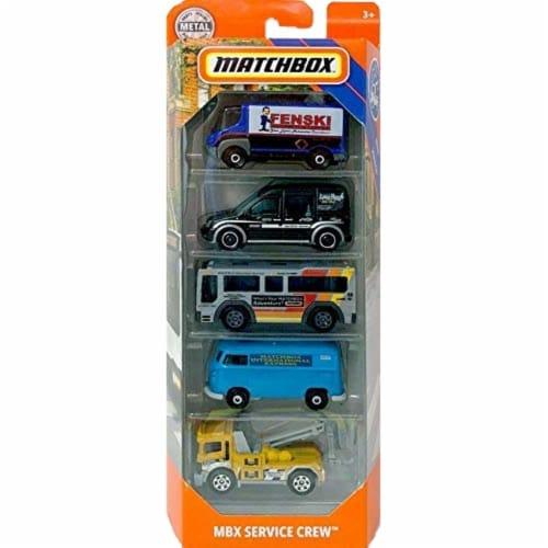 Matchbox 5 Pack, Service Squad Perspective: front