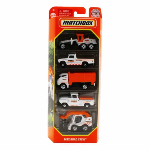 Matchbox 5 Pack, MBX Road Crew Perspective: front